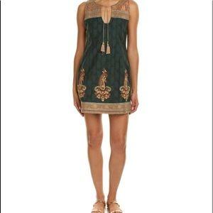 NWT Calypso St Barth Svila Embroidered dress